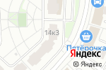 Схема проезда до компании Модный Дом в Москве
