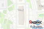 Схема проезда до компании Магазин одежды на Радужной в Москве