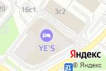 Схема проезда до компании WeGym в Москве