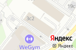 Схема проезда до компании Кливер в Москве