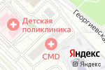 Схема проезда до компании Траттория UNO в Московском