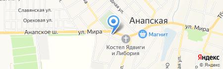 Vector на карте Анапы
