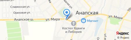 Новвтормет на карте Анапы