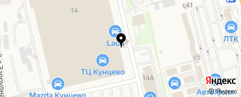 КВАДРОАВТО на карте Москвы