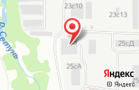 Схема проезда до компании Союзстройкласс в Москве