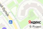 Схема проезда до компании Боншери в Красногорске