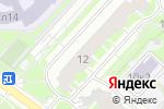 Схема проезда до компании Базилик в Москве