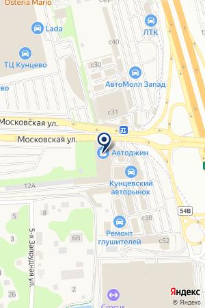 ТВЦ на карте Можайска