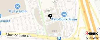 Магазин запчастей на карте Москвы