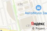 Схема проезда до компании Wheelsplus в Москве