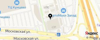 Магазин автотоваров на карте Москвы