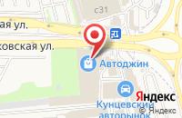 Схема проезда до компании Мастер Шрус в Новоивановском