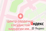 Схема проезда до компании Научный центр сердечно-сосудистой хирургии им. А.Н. Бакулева в Москве