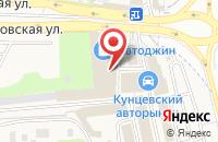 Схема проезда до компании ЮГ ГРУППА в Новоивановском