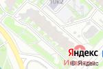 Схема проезда до компании Косметичка в Москве