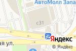 Схема проезда до компании Глушители в Москве