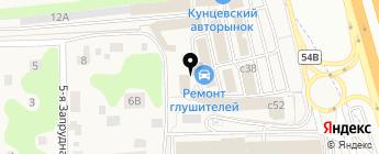 АвтоМОЛЛ на карте Москвы