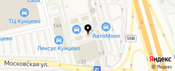 А-Краска на карте Москвы