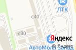 Схема проезда до компании Сеть магазинов шин и дисков в Москве