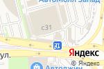 Схема проезда до компании Магазин автотоваров для Subaru в Москве