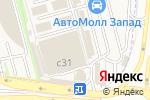 Схема проезда до компании AGN-AUTO в Москве