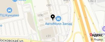 MT-Line на карте Москвы