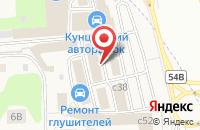 Схема проезда до компании Автостарт в Новоивановском