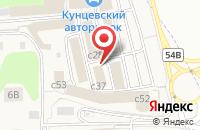Схема проезда до компании Габарит в Новоивановском