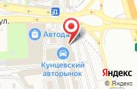Схема проезда до компании 77volvo в Новоивановском