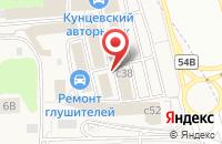 Схема проезда до компании АвтоМОЛЛ в Новоивановском