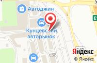 Схема проезда до компании Магазин автозапчастей для иномарок в Новоивановском