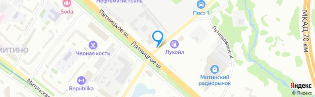 переулок Митинский 1-й
