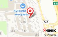 Схема проезда до компании AutoBoss в Новоивановском
