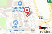 Схема проезда до компании Автобан в Новоивановском