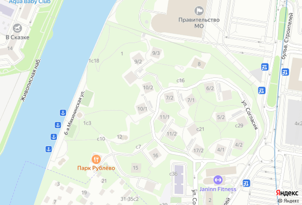 продажа квартир Парк Рублево