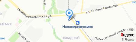 Родник на карте Москвы