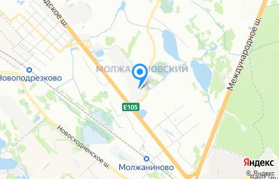 Местоположение на карте пункта техосмотра по адресу г Москва, ш Ленинградское, д 236 стр 3