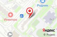 Схема проезда до компании Издательский Центр «Аква-Терм» в Москве