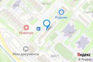 Комната в двухкомнатной квартире в Москве м. Волоколамская, Новотушинский проезд, 10к1