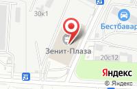 Схема проезда до компании Ферокс-Групп в Москве