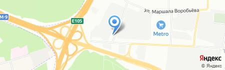 СТРОЙПРАКТИКА на карте Москвы