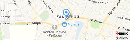 Банкомат Крайинвестбанк на карте Анапы