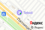 Схема проезда до компании Автоматик Москва в Москве
