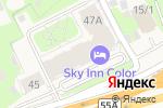 Схема проезда до компании Sky Skolkovo в Новоивановском
