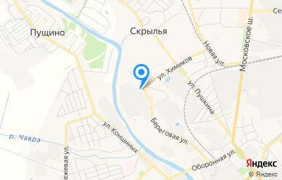 Местоположение на карте пункта техосмотра по адресу Московская обл, г Серпухов, ул Химиков, д 3