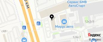 Злата-авто на карте Москвы