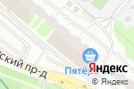Схема проезда до компании Городские Займы в Москве
