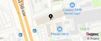 Три-АBC на карте Москвы