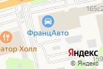 Схема проезда до компании Шиномонтажная мастерская в Новоивановском
