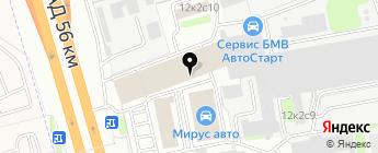 Лэндавто на карте Москвы